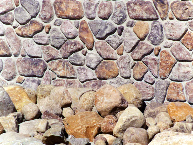 1202 Adjustable Random Fieldstone Ashlar Formliner