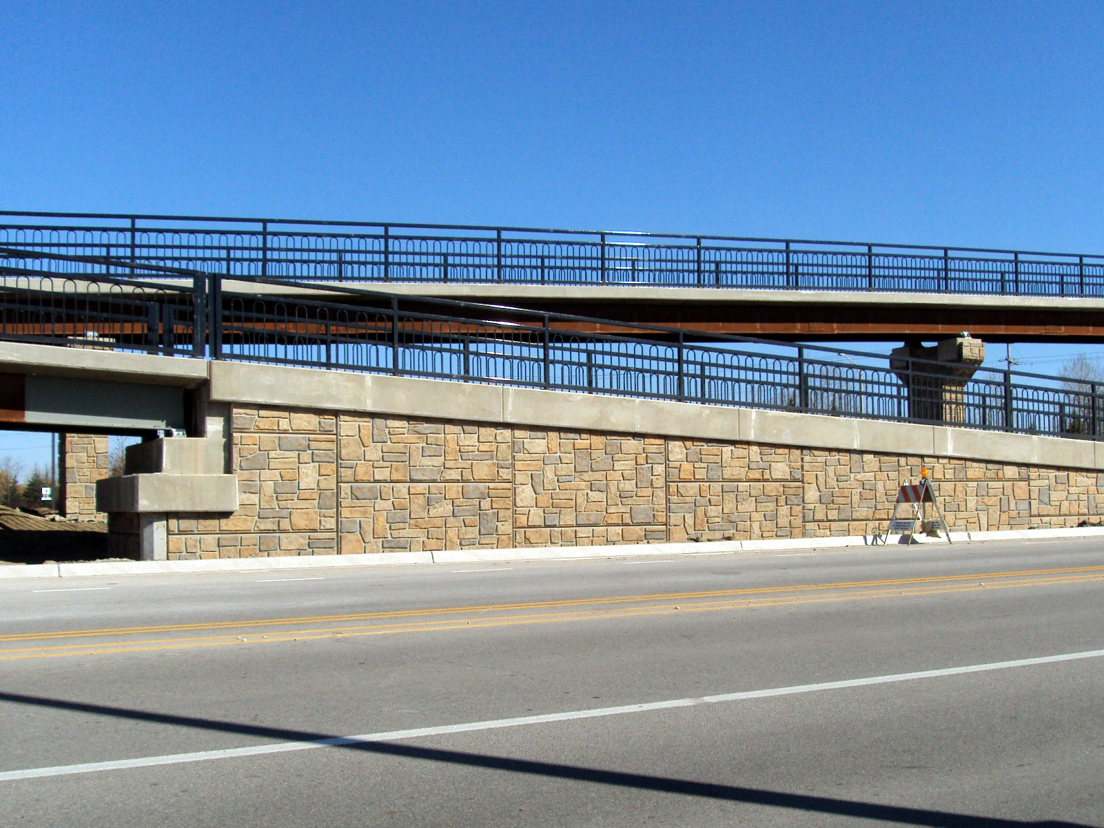 1103 Rustic Ashlar Pedestrian Bridge South Elgin, IL